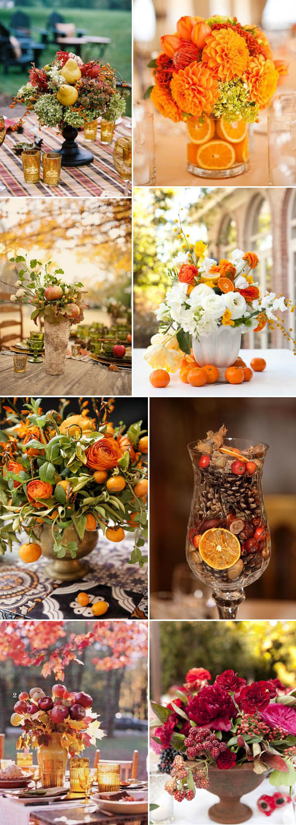 creative-fall-wedding-centerpieces-ideas-with-fruit