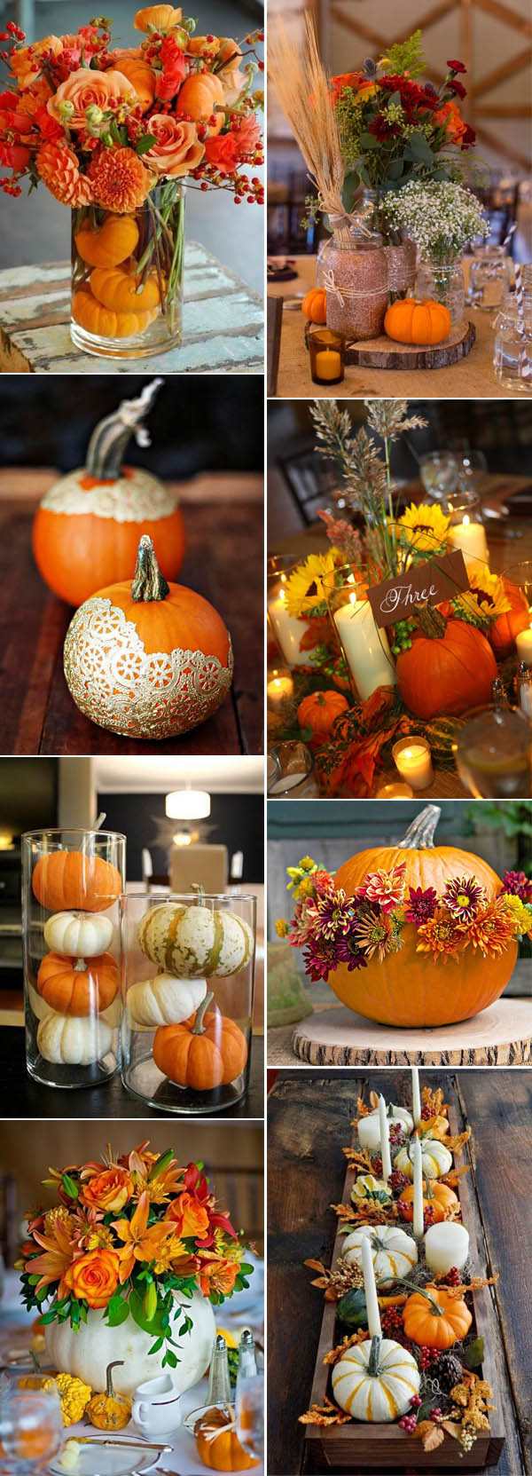 pumpkin-fall-wedding-centerpieces-ideas